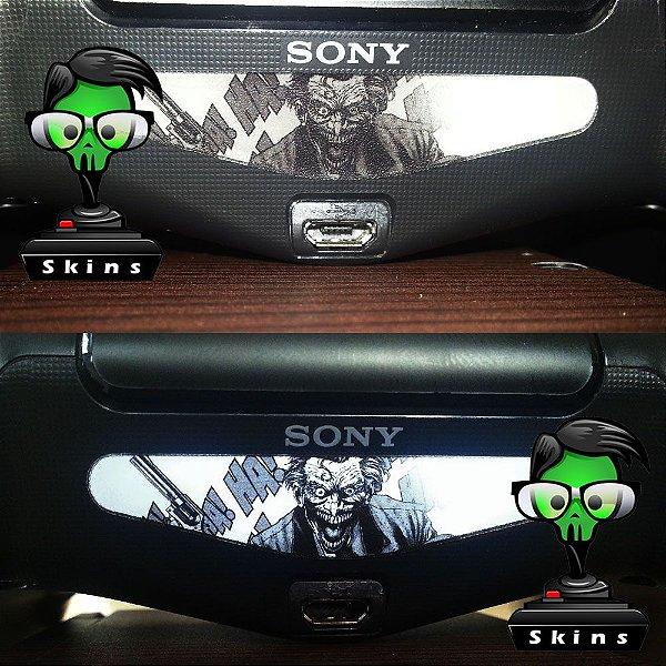 Adesivo lightbar controle ps4 Joker
