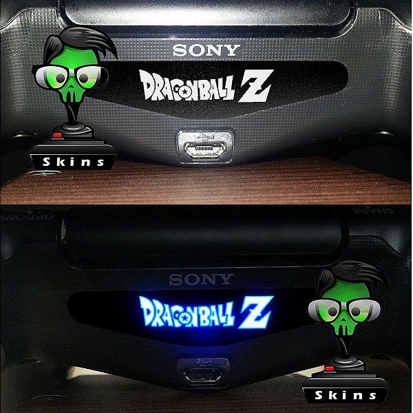 adesivo lightbar controle ps4 Dragonball Z