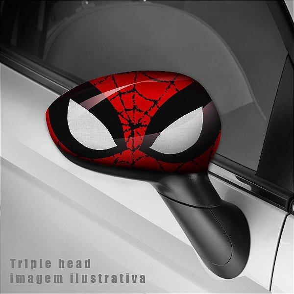 adesivo envelopamento carro Spiderman