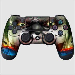 Adesivo de Controle PS4 Joker Face