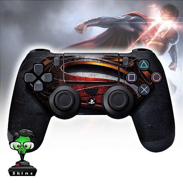 Adesivo de Controle PS4 Man of Steel