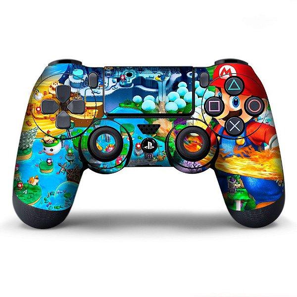 Adesivo de Controle PS4 Mario