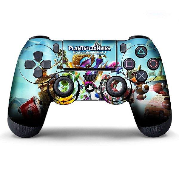 Adesivo de Controle PS4 Plants Mod 01