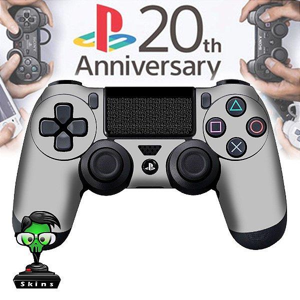 Adesivo de Controle PS4 PS2 Aniversary
