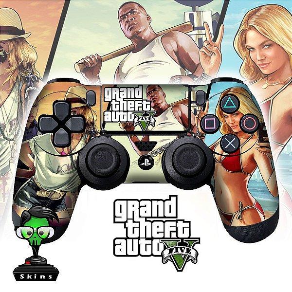 Adesivo de Controle PS4 GTA 5 Mod 01