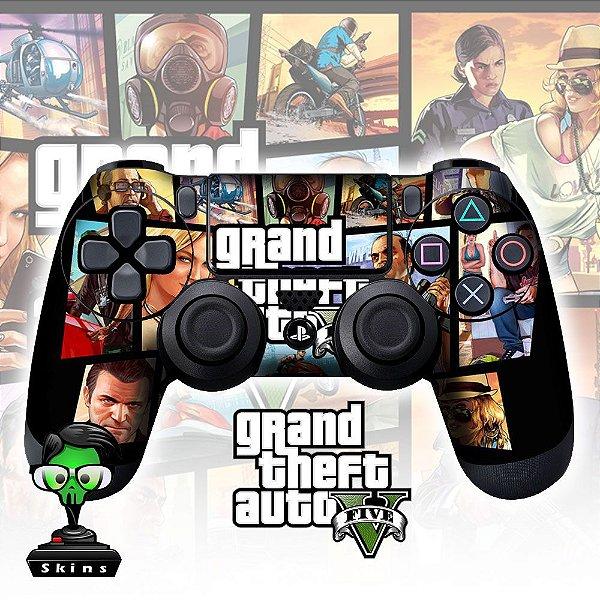 Adesivo de Controle PS4 GTA 5 Mod 03