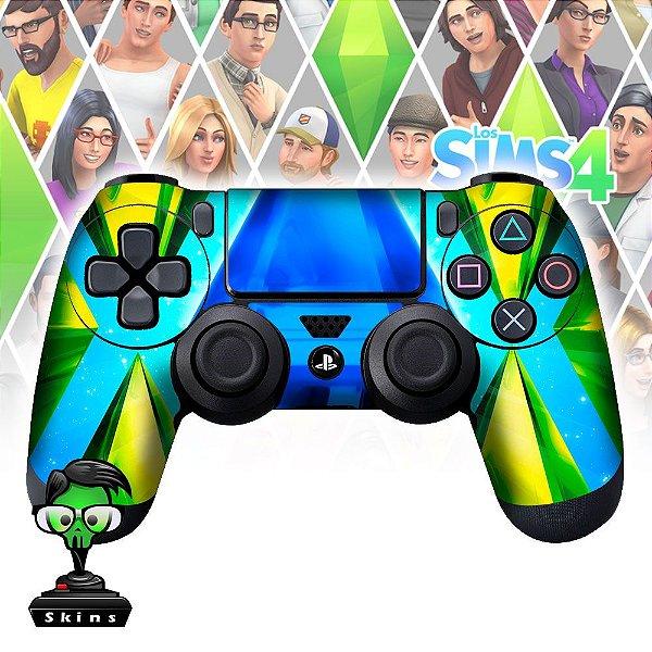 Adesivo de Controle PS4 The Sims 4 Mod 01
