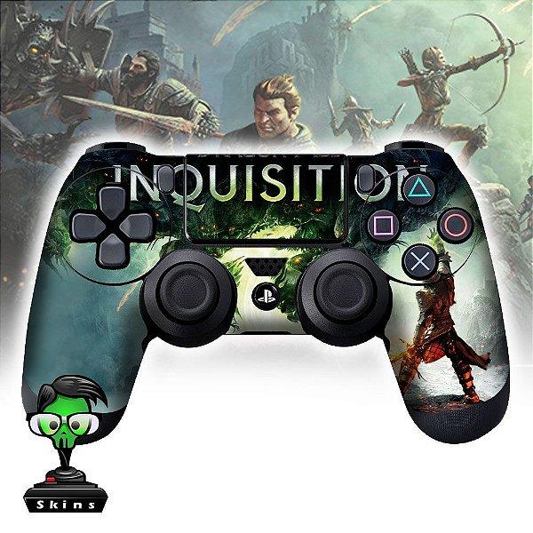 Adesivo de Controle PS4 Inquisition Mod 01