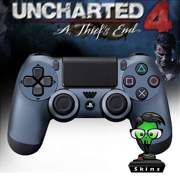 Adesivo de Controle PS4 Uncharted 4 Mod 01