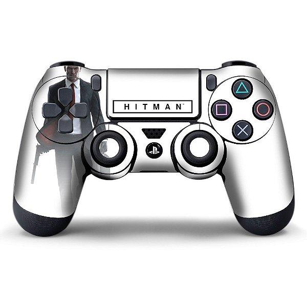 Adesivo de Controle PS4 Hitman Mod 01