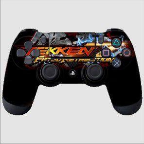 Adesivo de Controle PS4 Tekken Mod 01