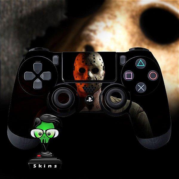 Adesivo de Controle PS4 Jason Mod 01