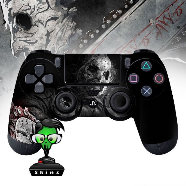 Adesivo de Controle PS4 Jason Mod 02