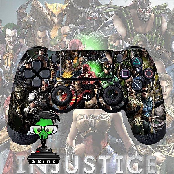 Adesivo de Controle PS4 Injustice Mod 01