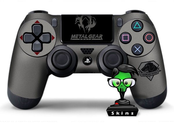Adesivo de Controle PS4 Metal Gear Mod 05