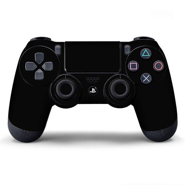 Adesivo de Controle PS4 Preto Mod 01