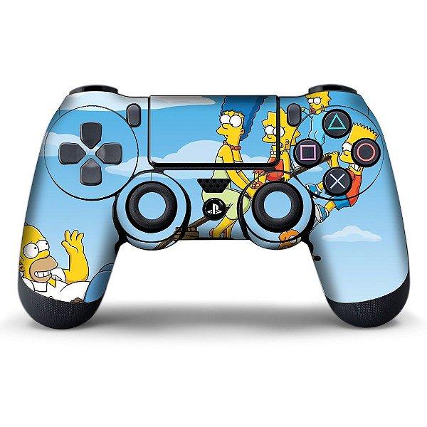 Adesivo de Controle PS4 The Simpsons Mod 01