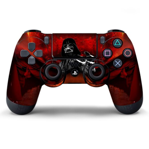 Adesivo de Controle PS4 Darth Vader Mod 01