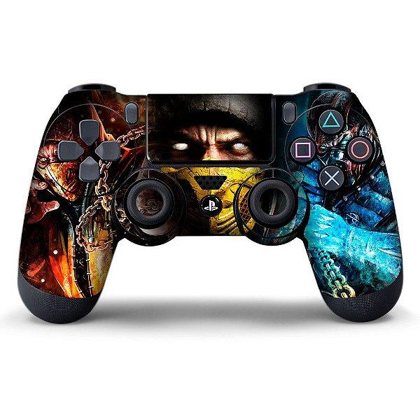 Adesivo de Controle PS4 Mortal Kombat Mod 03