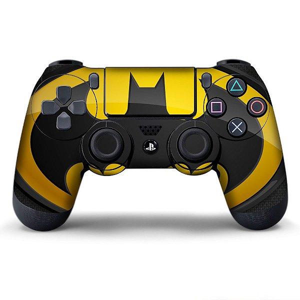 Adesivo de Controle PS4 Batman Mod 06