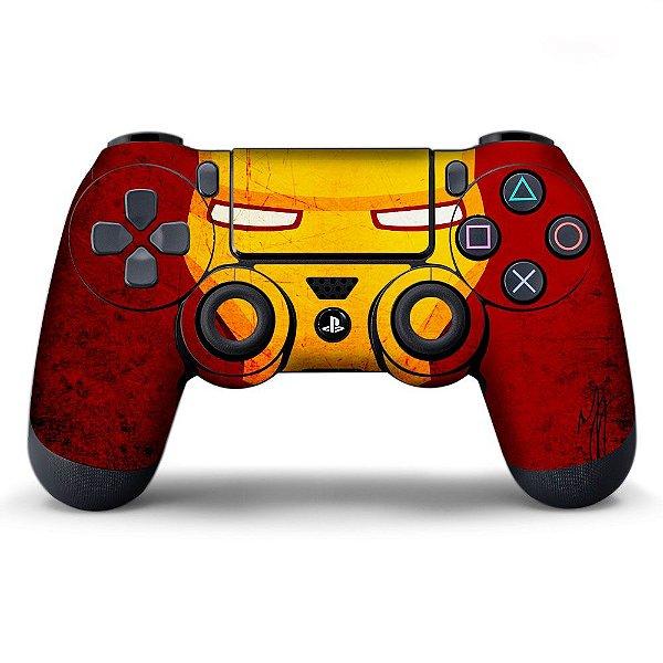 Adesivo de Controle PS4 Iron Man Mod 03