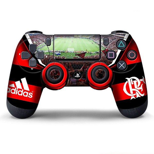 Adesivo de Controle PS4 Flamengo Mod 01