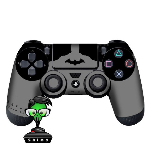 Adesivo de Controle PS4 Batman Mod 05