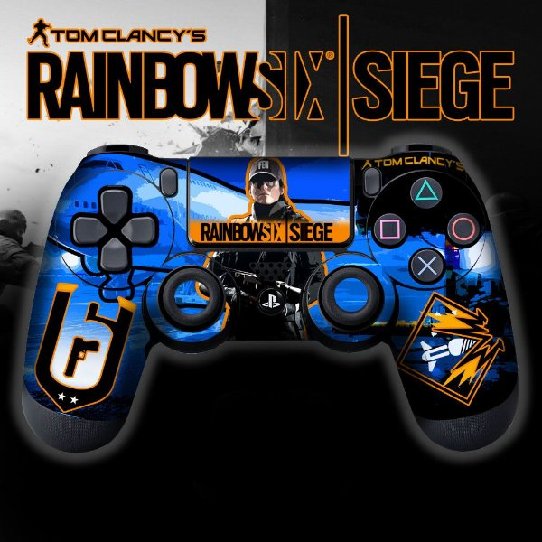Adesivo de Controle PS4 Raibow Six Mod 5