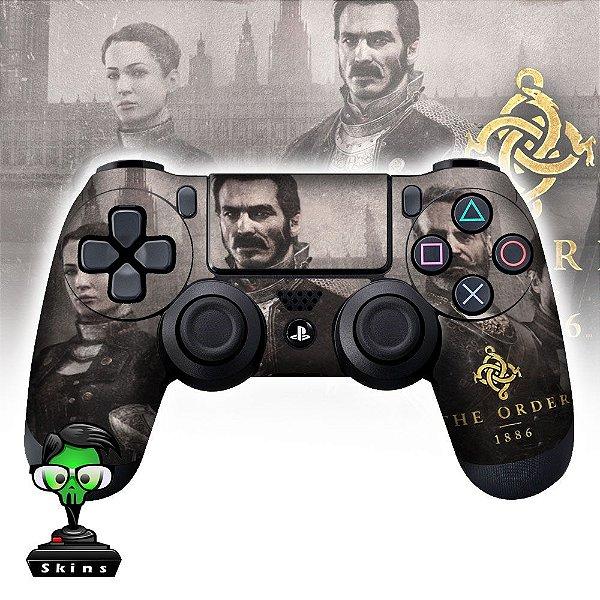 Adesivo de Controle PS4 The Order Mod 01