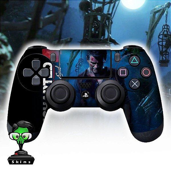Adesivo de Controle PS4 Uncharted  Mod 03