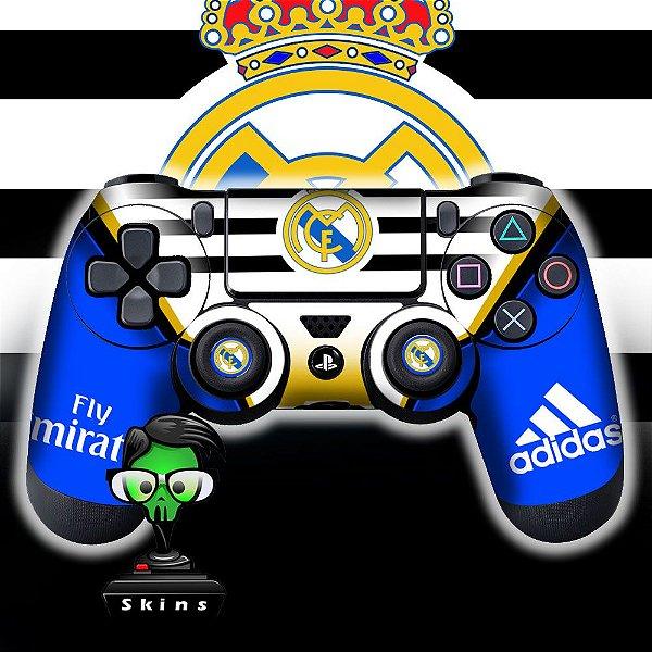 Adesivo de Controle PS4 Real Madrid Mod 01