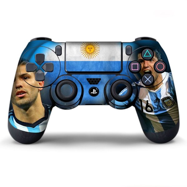 Adesivo de Controle PS4 Argentina Mod 01