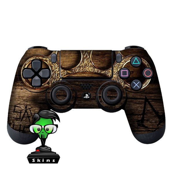 Adesivo de Controle PS4 Assassins Creed Sybdicate mod 01