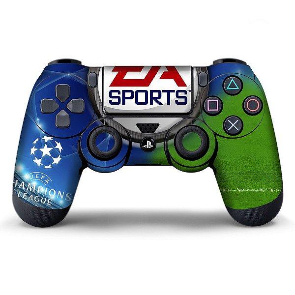 Adesivo de Controle PS4 Champions League Mod 01