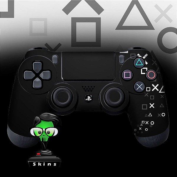 Adesivo de Controle PS4 Controle Black