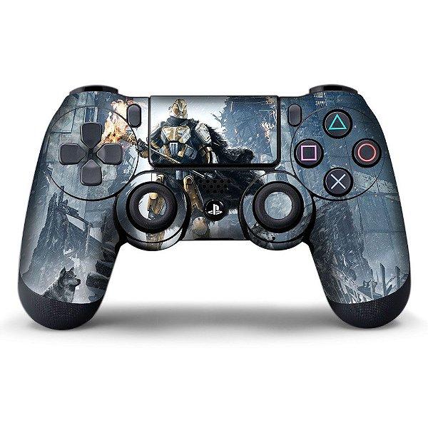 Adesivo de Controle PS4 Destiny Rise of Iron
