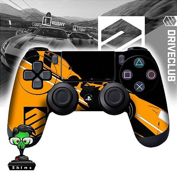 Adesivo de Controle PS4 Drive Club Yellow