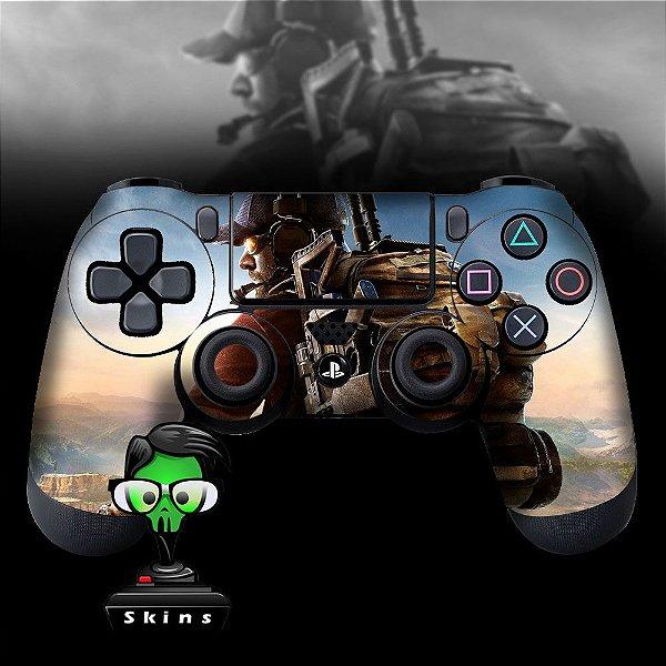 Adesivo de Controle PS4 Ghost Recon Wildlands Mod 01