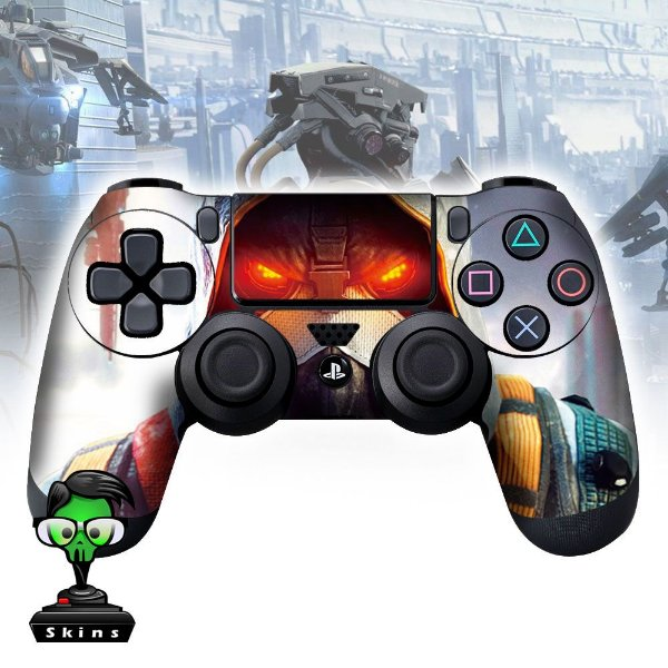 Adesivo de Controle PS4 Kill Zone Mod 01