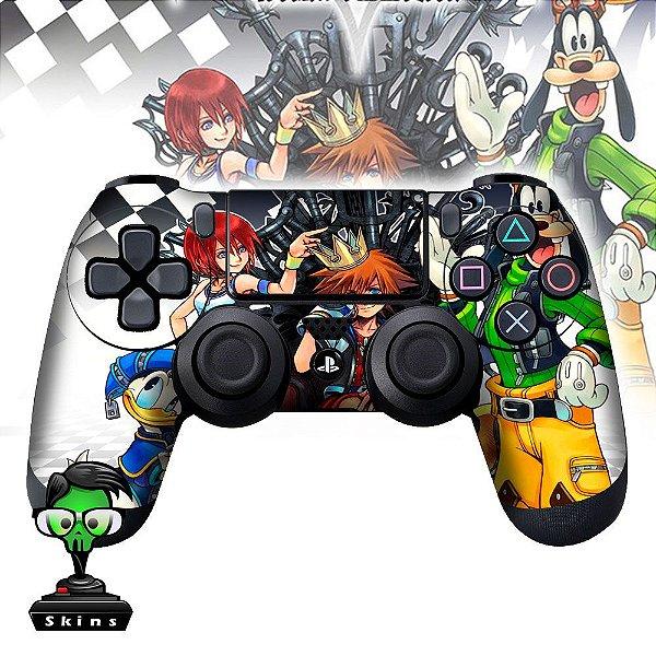 Adesivo de Controle PS4 Kingdon Hearts Mod 01