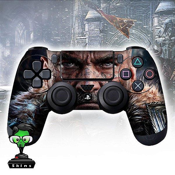 Adesivo de Controle PS4 Irod of Fallen Mod 01