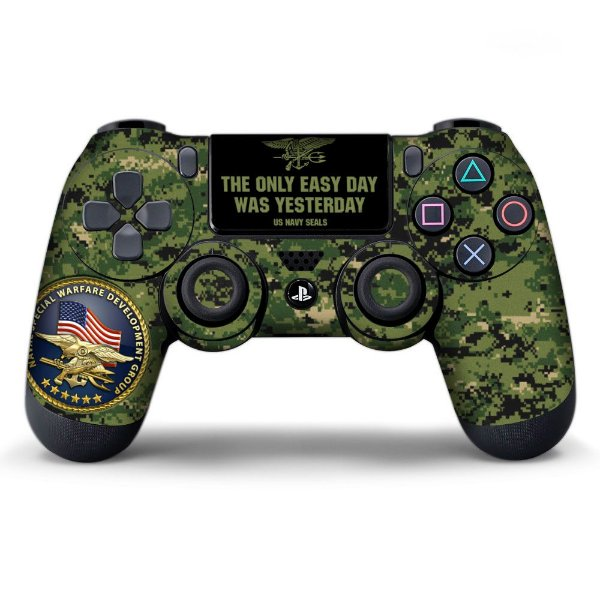 Adesivo de Controle PS4 Militar Mod 01