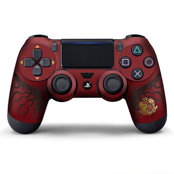 Adesivo de Controle PS4 Monster Hunter Blundle Mod 01