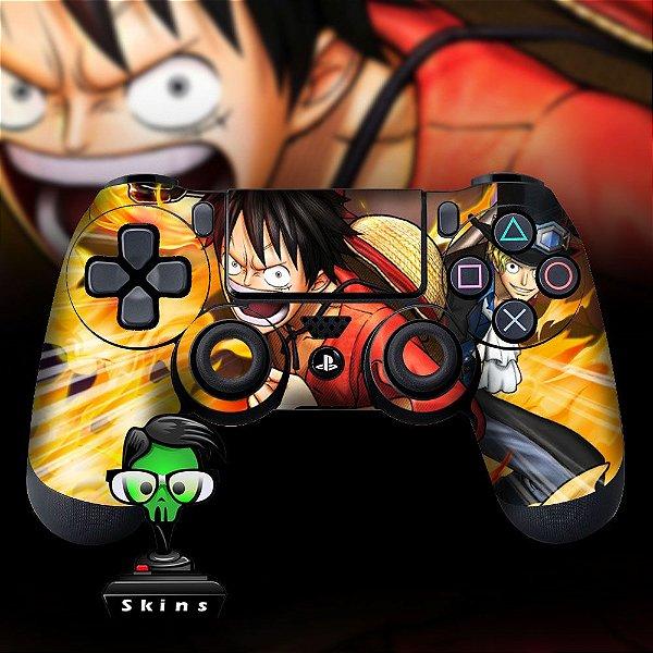Adesivo de Controle PS4 One Piece Mod 01