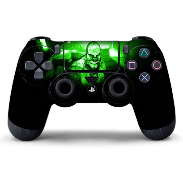 Adesivo de Controle PS4 Outlast Chris Mod 01