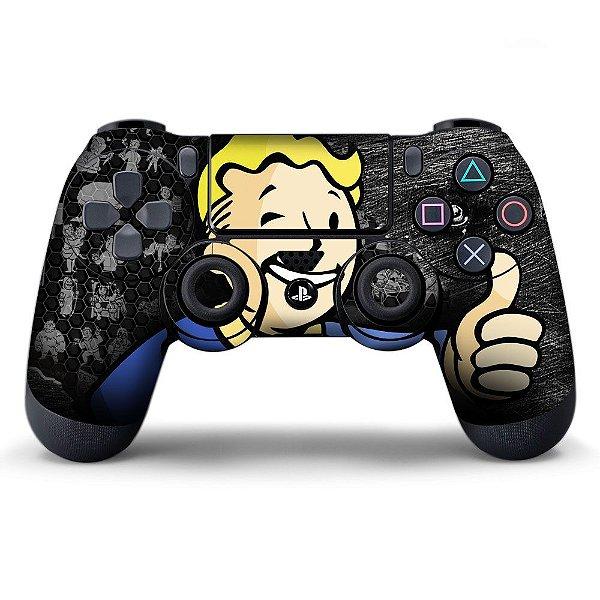 Adesivo de Controle PS4 Pipboy Mod 01