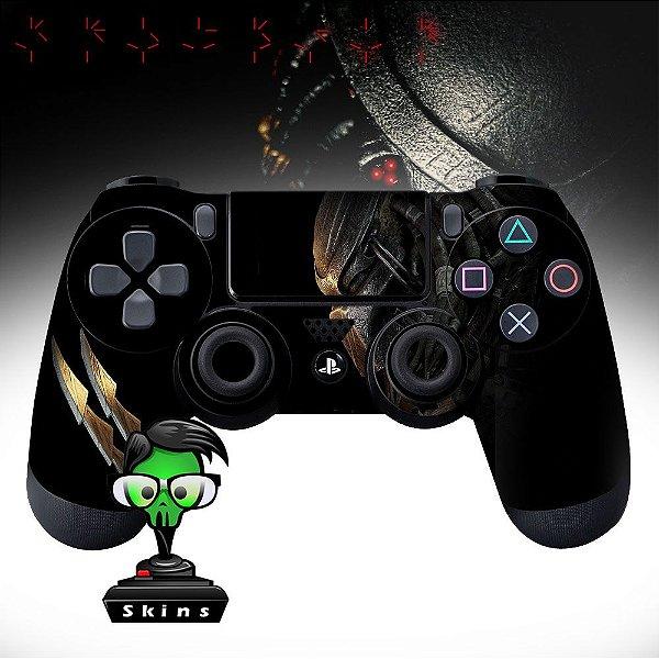Adesivo de Controle PS4 Predador Mod 01