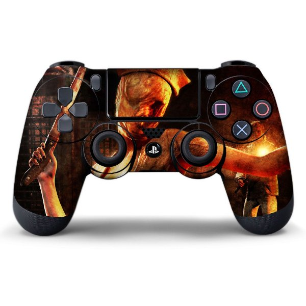 Adesivo de Controle PS4 Silent Hill Mod 01