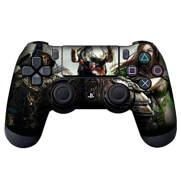 Adesivo de Controle PS4 Skyim Mod 01