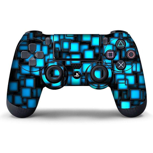 Adesivo de Controle PS4 Squares Texture Mod 01